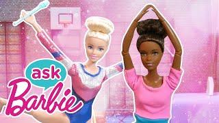Спроси Барби о соревнованиях по гимнастике вместе с друзьями Barbie Россия 3
