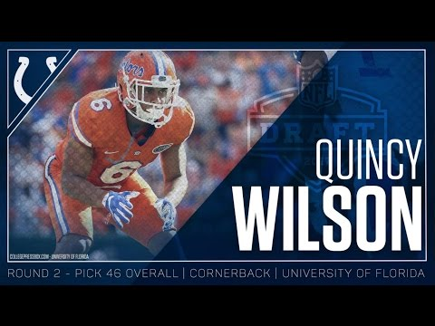 Quincy Wilson Welcome to the Colts 2017
