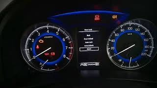 BALENO INSTRUMENT CLUSTER|BALENO MULTI INFORMATION DISPLAY (MID)