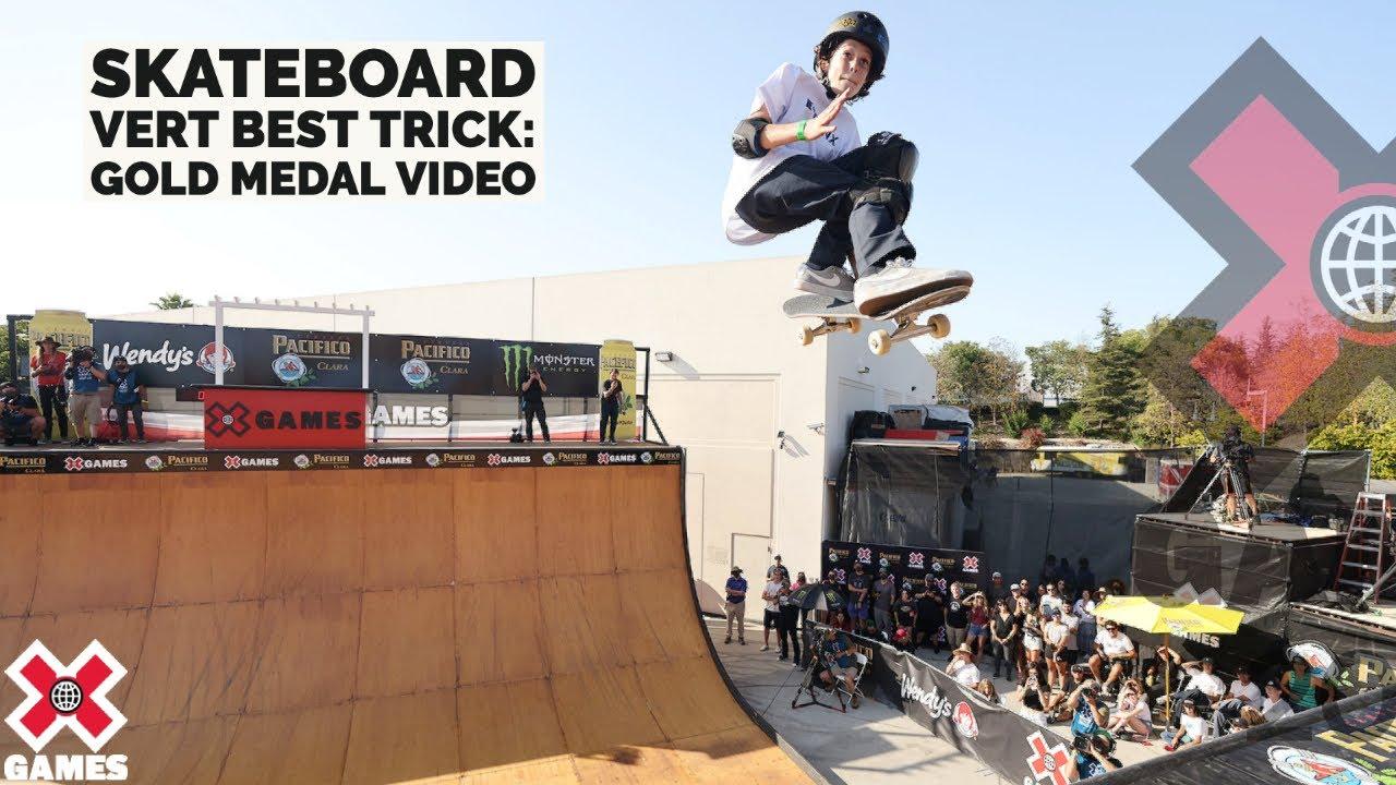 Download GUI KHURY LANDS 1080: Pacifico Skateboard Vert Best Trick   X Games 2021
