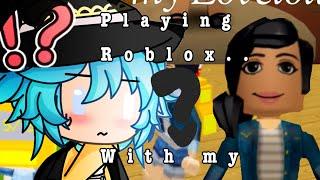 Cringe Roblox vidéo💕Avec mon petit frère Terx! Va coller avec gacha, pas Roblox!😂💙