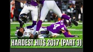 Hardest Hits of the 2017-18 NFL Football Season (Part 3)