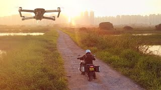 DJI Mavic Pro Visual Tracking a Motorcycle -  HeliPal.com