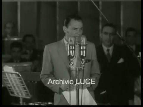 1953 – Frank Sinatra è ospite alla RAI.