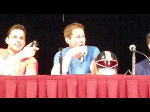 Power Morphicon 2016 Power Rangers forever red panel first hour