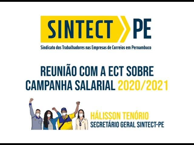 Reunião com a ECT sobre Campanha Salarial 2020/2021