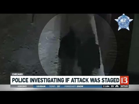 Police investigating if attack was staged