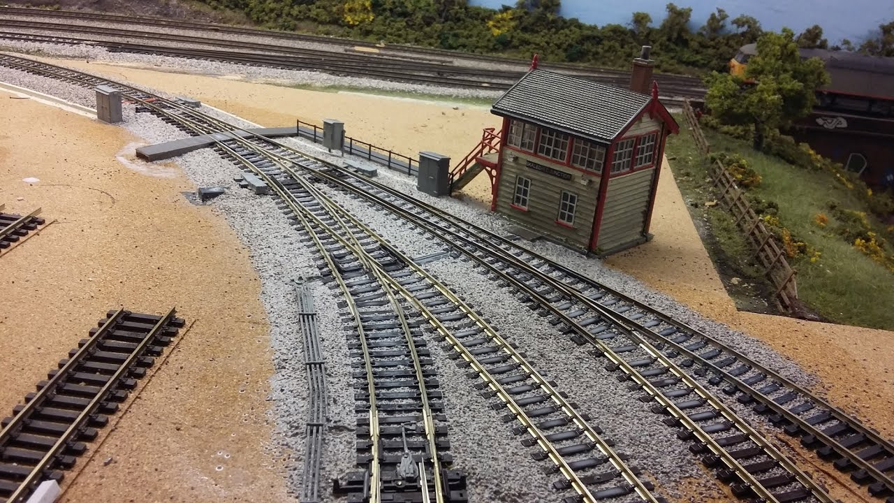 Building A Model Railway Part 7 Track Detail Youtube