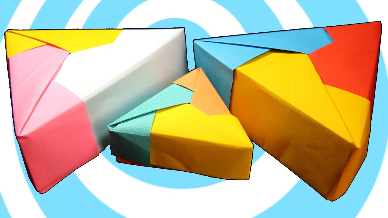 Modular Origami Triangle Box Instructions | FunnyDog.TV - photo#16