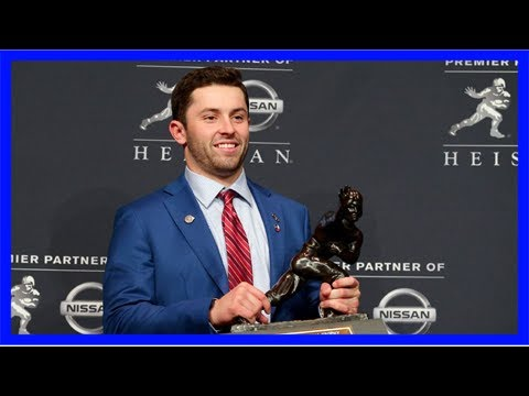Baker Mayfield's unconventional route to the Heisman
