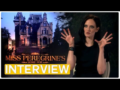 Eva Green - Miss Peregrine's Home for Peculiar Children | exclusive Interview (2016)