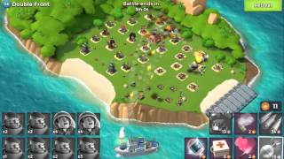 海島奇兵 Boom Beach Level 48 (56) Double Front Grenadiers