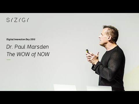 "DID15 / Dr. Paul Marsden ""The WOW of NOW"" [EN] (2015)"