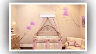 видео Кроватка для новорожденных с балдахином