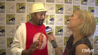 Comic-Con 2014: Jesse L. Martin Loves 'The Flash' Thumbnail