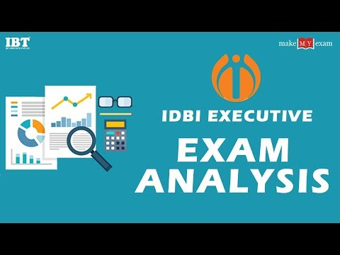 IDBI Executive Exam Analysis ( First Shift)