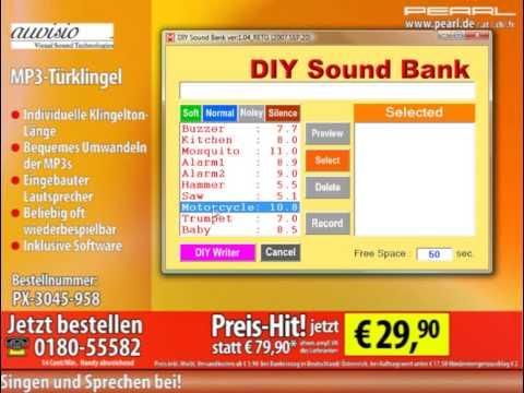 auvisio MP3-Türklingel