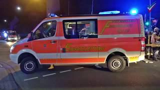 Feuerwehr rettet 13 Menschen – Treppenhaus verraucht durch Kellerbrand