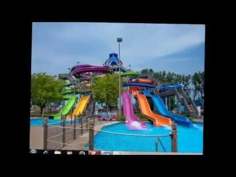 Millennium Park in the Loop community area of Chicago in Illinois, US,