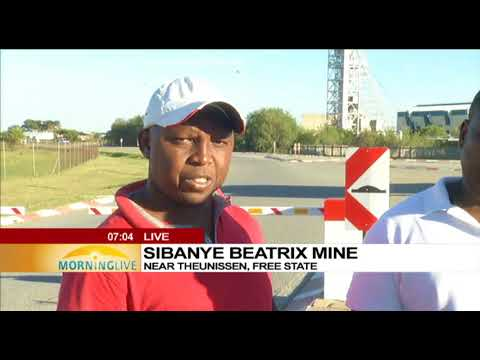 Rescued Sibanye Beatrix miners share their ordeal