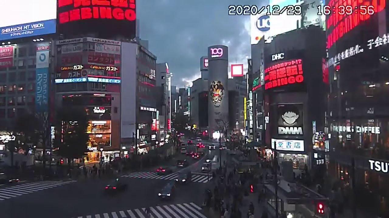 交差点 渋谷 カメラ スクランブル