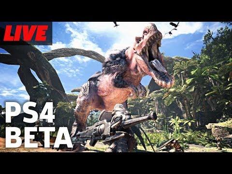 One Last Hunt In Monster Hunter: World Beta