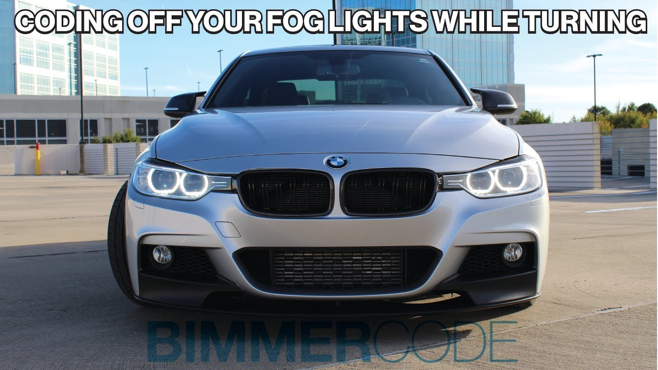 BIMMERCODE: CODING YOUR FOG LIGHTS OFF WHILE TURNING