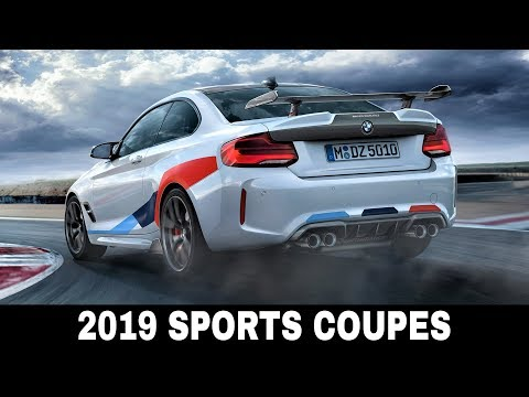 8 New Sporty Coupes that Will Dominate Highways in 2019 (Interior and Exterior Comparison)