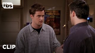 Friends: Chandler Confesses to Kissing Joey's Girlfriend (Season 4 Clip)   TBS