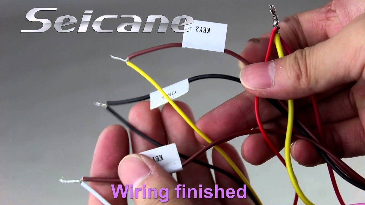 seicane    wiring  steering wheel