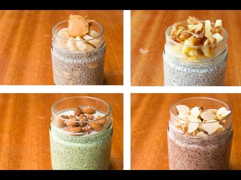 chia-pudding-recipe-4-ways,-chia-seeds-for-weight-loss