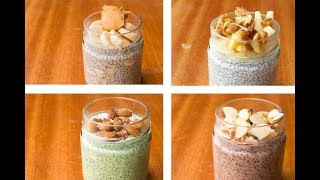 Chia Pudding Recipe 4 Ways, Chia Seeds For Weight Loss