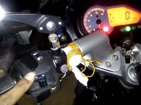 Pulsar 150cc Light Modifications