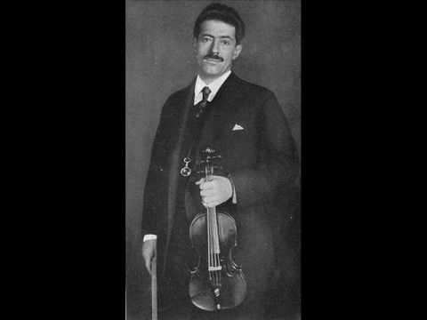 Fritz Kreisler plays Londonderry Air