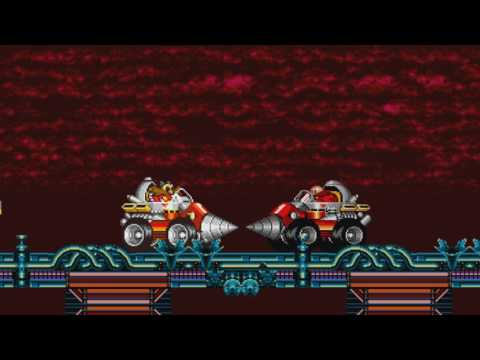 The Super Eggman Boss Show ! Sprite animation