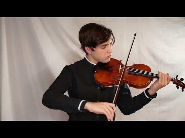 Sameer Agrawal - Sonata No.2, IV: Les Furies - Eugene Ysaye