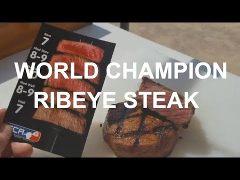 Ribeye Steaks World Champion Johnny Joseph SCA Contest PK Grill Texas How-To Chris Lilly Harry Soo