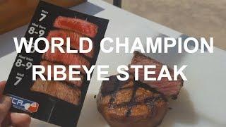 Ribeye Steaks World Champion Johnny Joseph SCA Contest PK Grill Texas How-To Chris Lilly Harry Soo