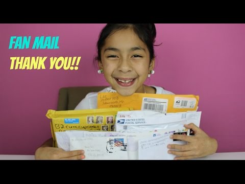 Fan Mail Love | Love Letters| Thank You!!