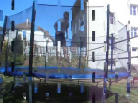 trampoline freestyle backflip, frontflip 360 ...