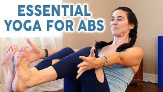 Get a Flat Tummy & Strong Core at Home ♥ Yoga with Julia, Beginners At Home Workouts, 20 Minutes