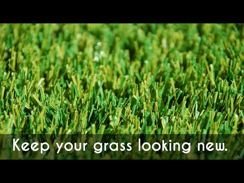 Keep your artificial grass looking like new