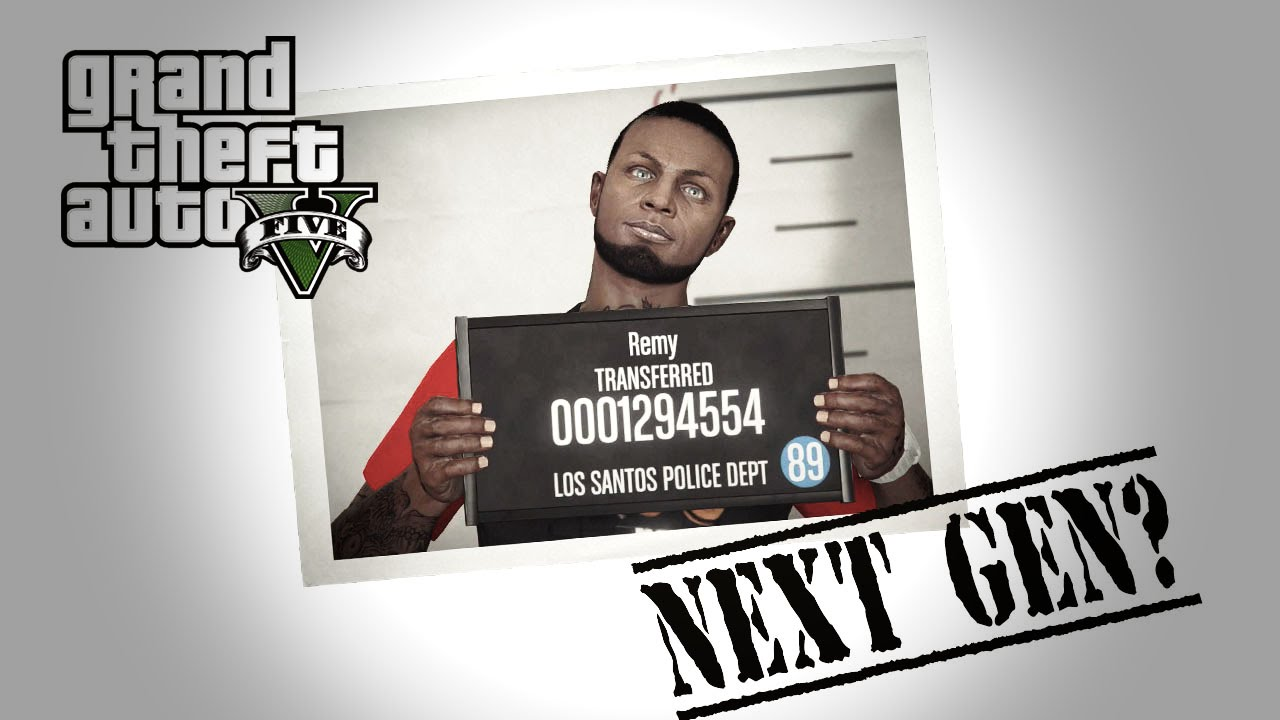GTA V Next Gen - Character Creation & Gameplay #RNG - YouTube