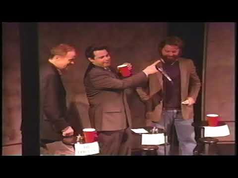Zach Galifianakis vs Paul F Tompkins vs Bil Dwyer 2003 JOKE MACHINE