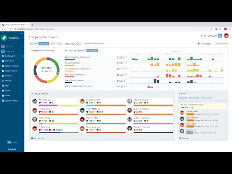Trackabi — Advanced Time Tracking & Leave Management Software. Quick Overview