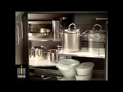 Magic Corner Para Cocinas Integrales Ikarus Youtube