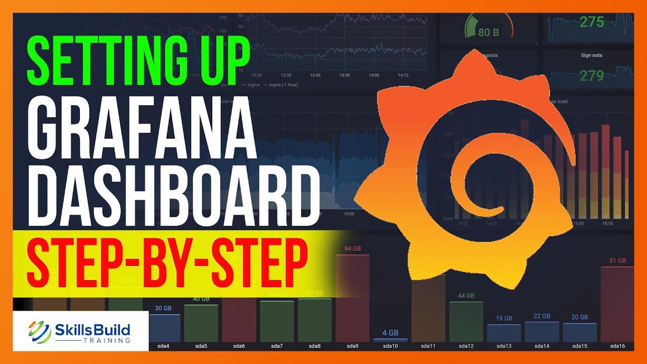How to Setup a Grafana Dashboard Step-by-Step   Grafana Tutorial for Beginners