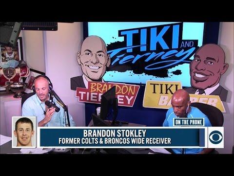 Brandon Stokley joins Tiki & Tierney