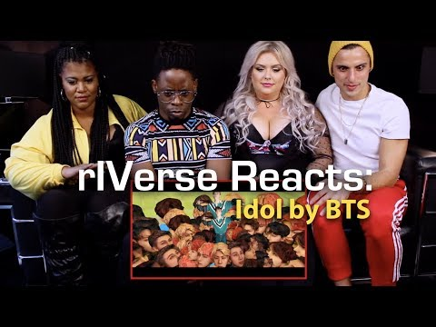 rIVerse Reacts: IDOL by BTS - MV Reaction