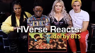 rIVerse Reacts: IDOL by BTS - M/V Reaction